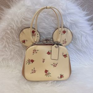 *FINAL SALE* NWOT Disney x Coach Minnie Floral Bag